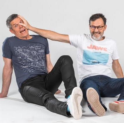 Dave Kelly et Jim Button